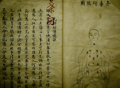 chinese old medical book