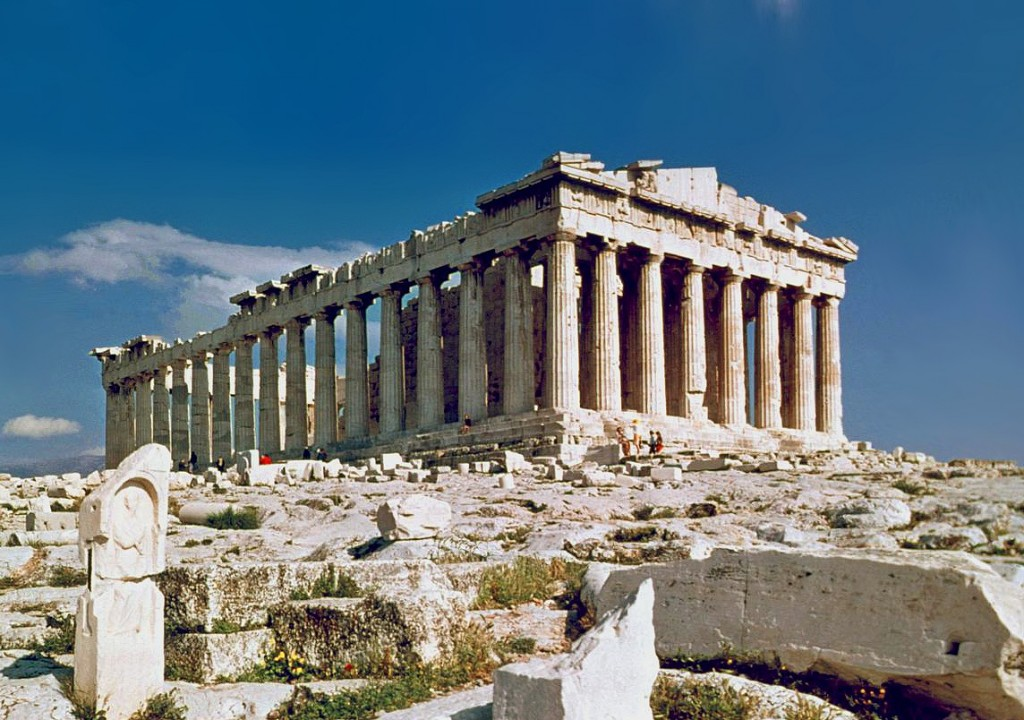 The Parthenon in Athens (Photo Credit: Wikimedia Commons)