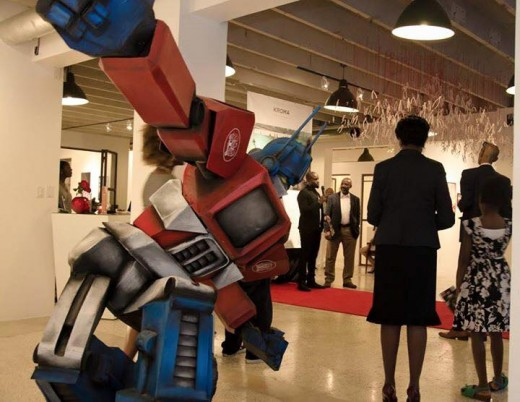 Astro-traveling through the intergalactic celestial soul of Art at KROMA AfroFuturism Exhibition featuring Enter E.X.O. JS Rashid introduces Roye Okupe creator of first African Comic Book Super Heroes. Critically acclaimed by Forbes Magazine; BBC & CNN