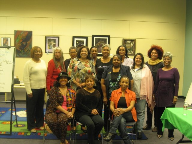 """Sheila at her workshop, """"Mo Better Inspiration for Women over 40"""" - Las Vegas"""