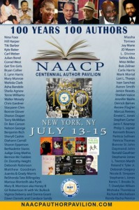 Sheila was one of the featured authors at The NAACP Centennial Author Pavilion, 100 Year 100 Authors - New York City